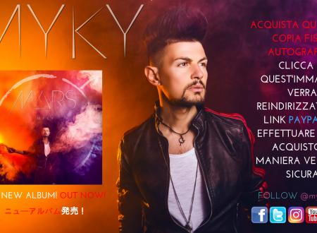 "BUY MY NEW ALBUM ""MARS"" / ACQUISTA IL MIO NUOVO ALBUM ""MARS"""