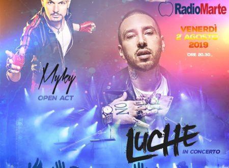 Luche live at Jambo Summer fest Venerdi 2 Agosto 2019 – Opening act Myky